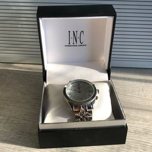 Brand New INC bedazzled watch